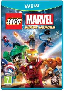 Lego Marvel Super Heroes WiiU Cover