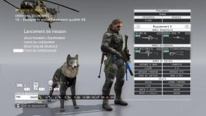 Metal gear solid 5 chien borne