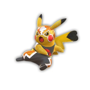 pikatchu catcheur pokken tournament wii u