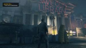 Quantum Break bibliothèque