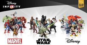 Disney Infinity 3.0 Wiiu figurines