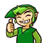 Zelda Tri force heroes 3ds pouce