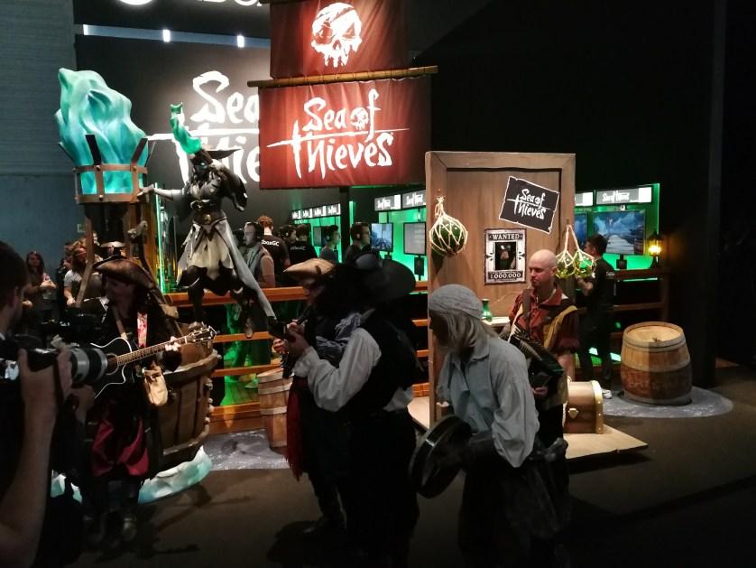 Sea of thieves Microsoft Gamescom 2017