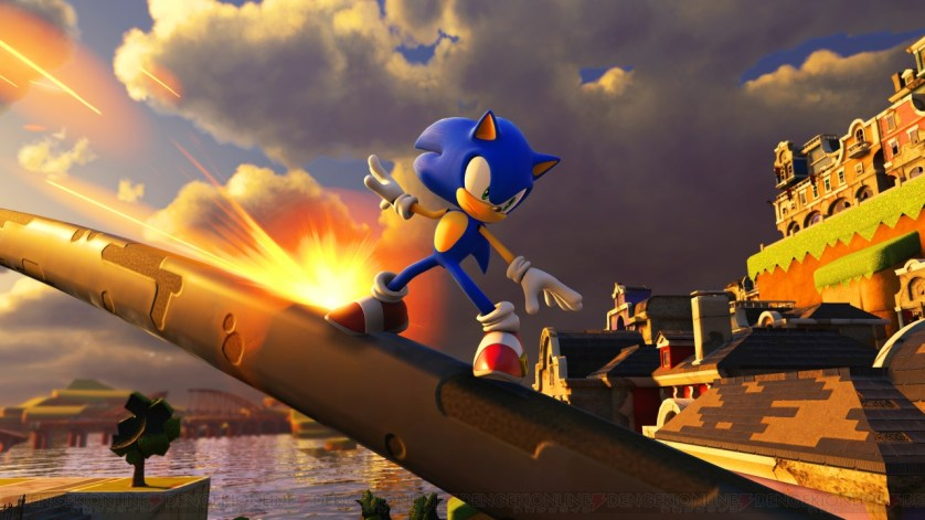 SonicForces Gamescom 2017 Modern Sonic