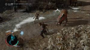 Esquive Shadow Of War PS4