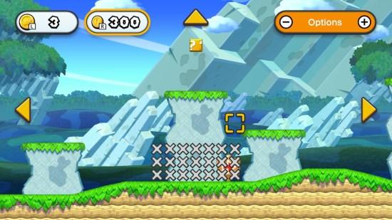 New Super Mario Bros U Deluxe Switch éditeur de niveau