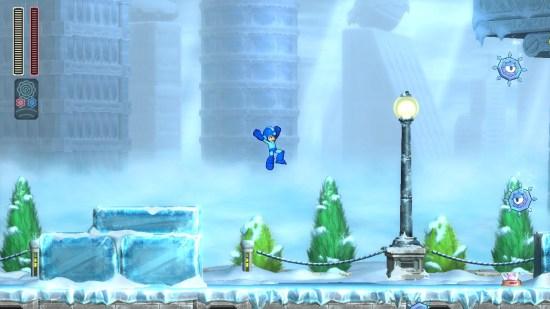 Mega man 11 Switch neige