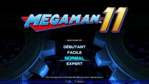 Mega man 11 Switchmenu