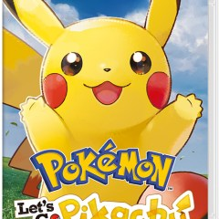 Pokémon let's go apéro Pikachu [Pokémon let's go Pikachu, Switch]