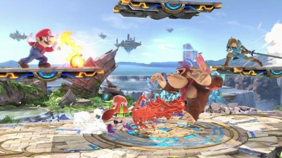 Super Smash Bros. Ultimate Switch combat