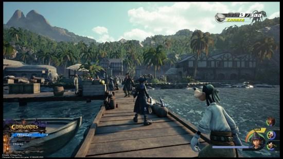 Kingdom Hearts 3 PS4 Pirates