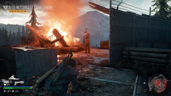 DAYS GONE PS4 camp ennemi