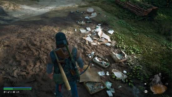 DAYS GONE PS4 déchêts