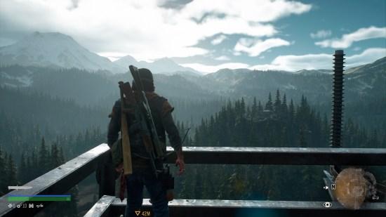 DAYS GONE PS4 paysage