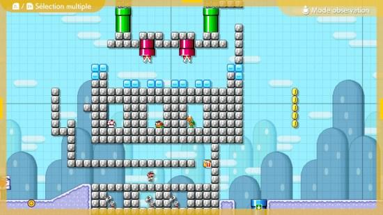 Super Mario Maker 2 Winterfell