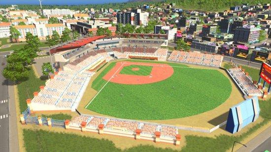 Comment veux tu réussir tes études sans un énorme stade de baseball...