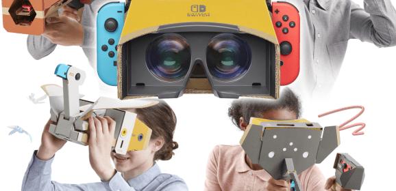 Je rêve de carton [Nintendo Labo kit VR, Switch]