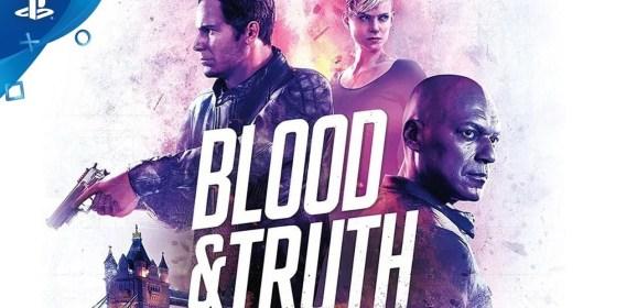 London flingueur [Blood & Truth, PSVR]