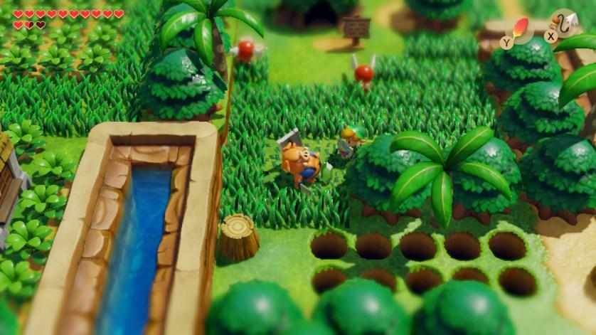 Link's Awakening switch vert