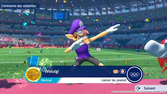 Mario & Sonic aux jeux olympiques 2020 dab