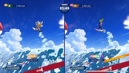 Mario & Sonic aux jeux olympiques 2020 surf