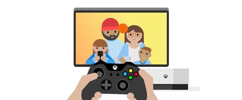 Xbox paramètres parentaux famille