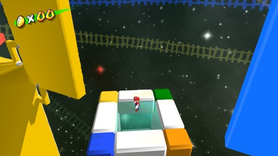 Super mario 3d all stars cubes