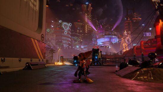 Ratchet _ Clank_ Rift Apart_PS5 ville