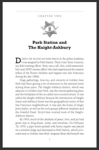 Ch 2: Park Station And<br /> The Haight-Asbury