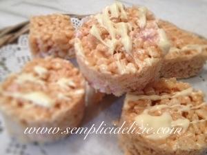 Barrette ai cereali ai marshmallow