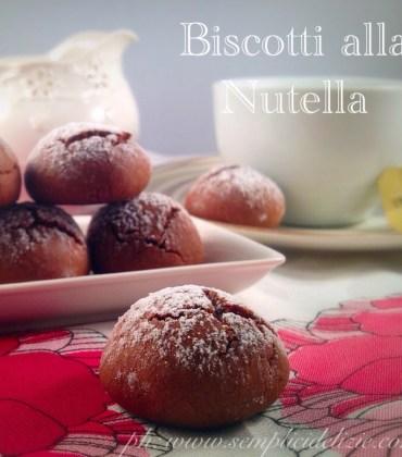 Biscotti alla Nutella ❤️
