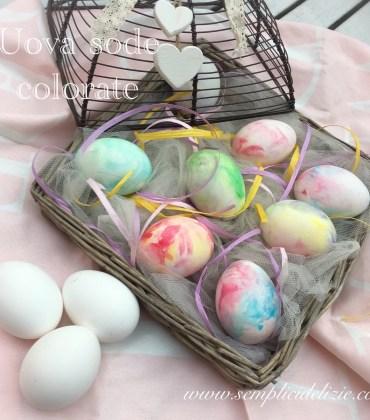 Uova Sode Colorate (con guscio)