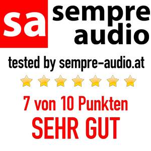 sempre audio Award SEHR GUT