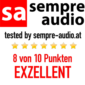 sempre audio Award Exzellent