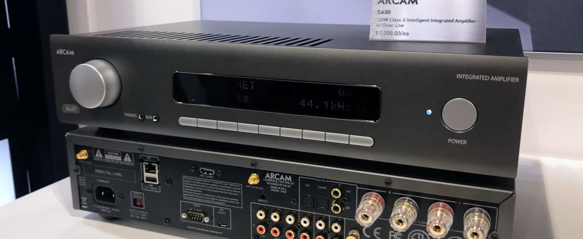 Arcam SA30 Class G Intelligent Integrated Amplifier