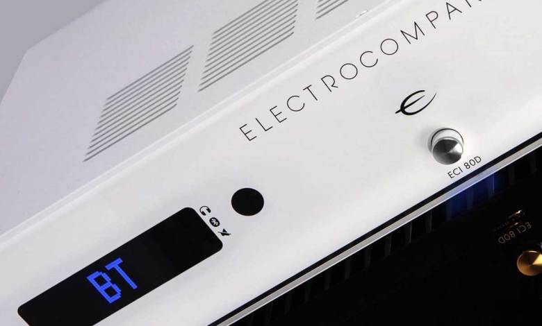 Electrocompaniet ECI-80D Integrated Amplifier White Silver