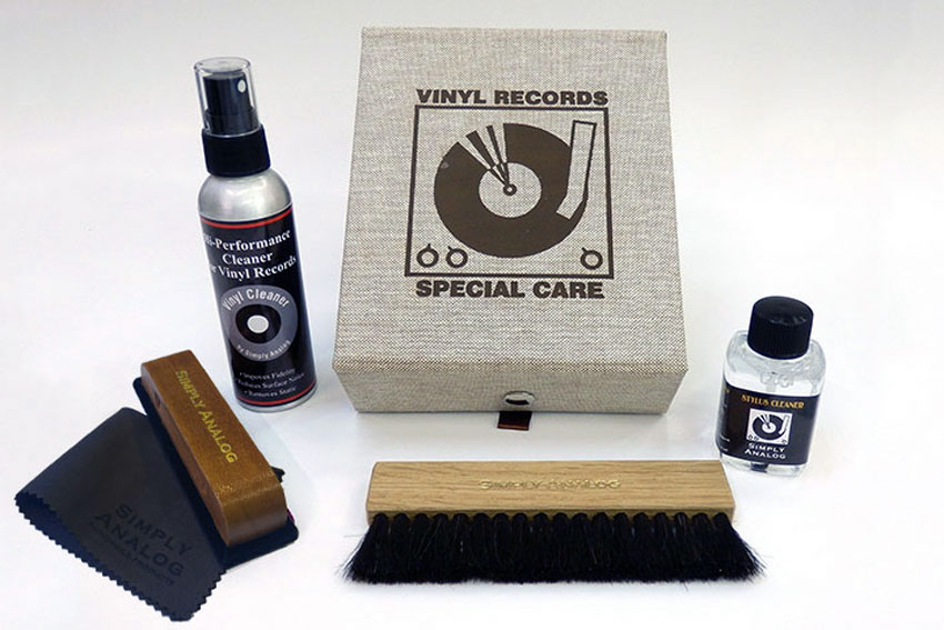 Simply Analog Vinyl Cleaning Boxset Special Care 03