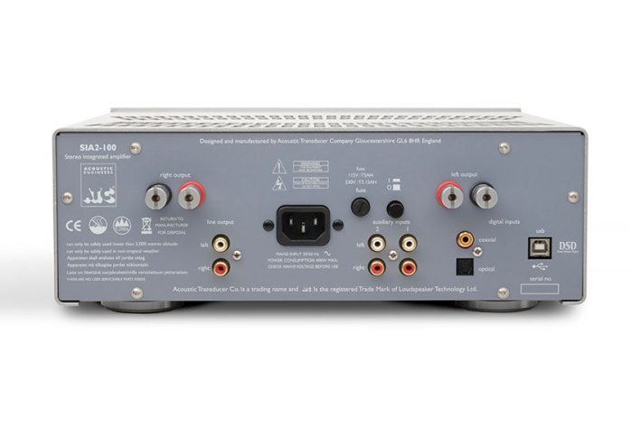 ATC SIA2 100 Stereo Integrated Amplifier 02