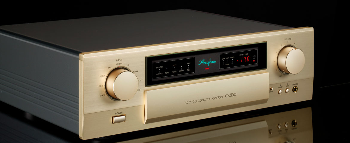 Accuphase C-2150 Stereo Control Center