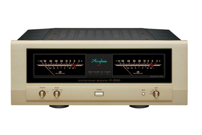 Accuphase P 4500 Stereo Power Amplifier 01