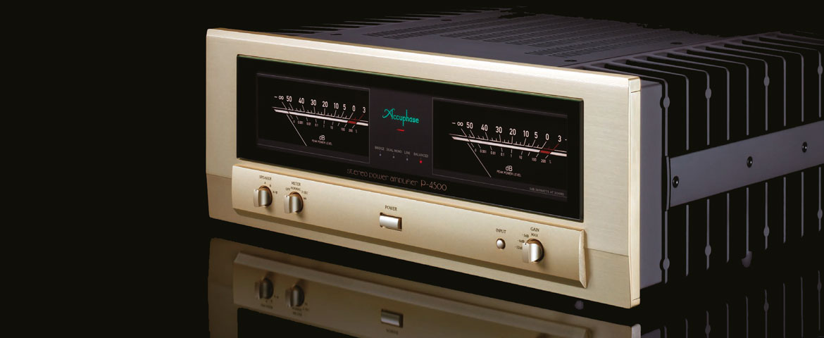 Accuphase P-4500 Stereo Power Amplifier