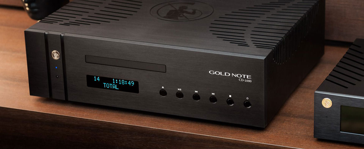 Gold Note CD-1000 MKII im Test