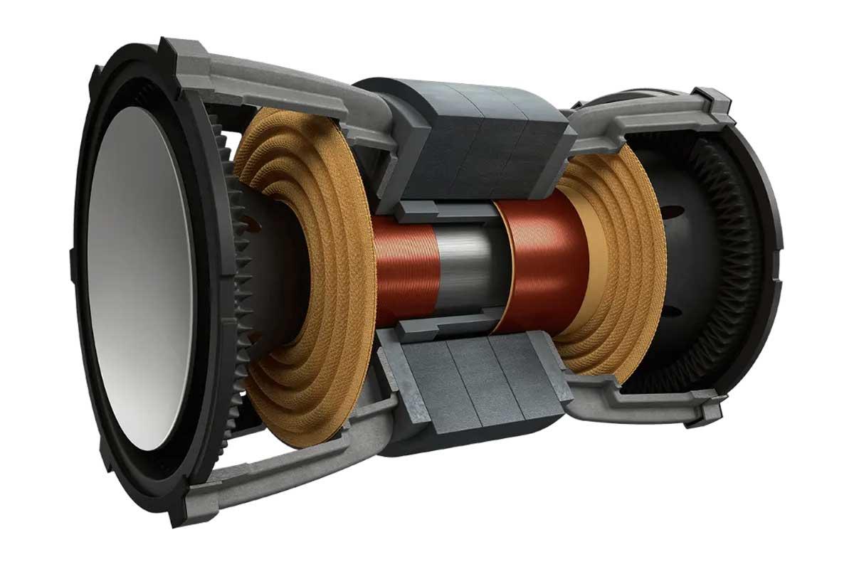 KEF Uni-Core Technologie für maximalen Bass auf kleinstem Raum