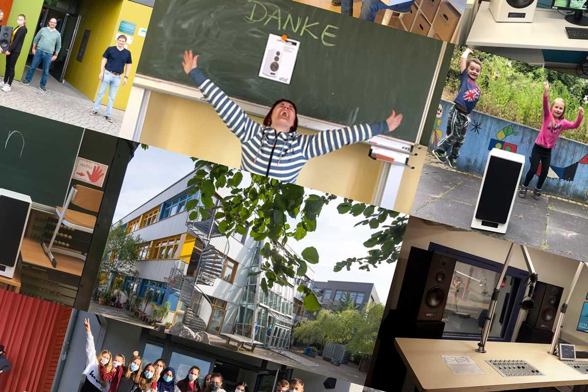 Nubert macht Schule – Spendenaktion wird fortgesetzt