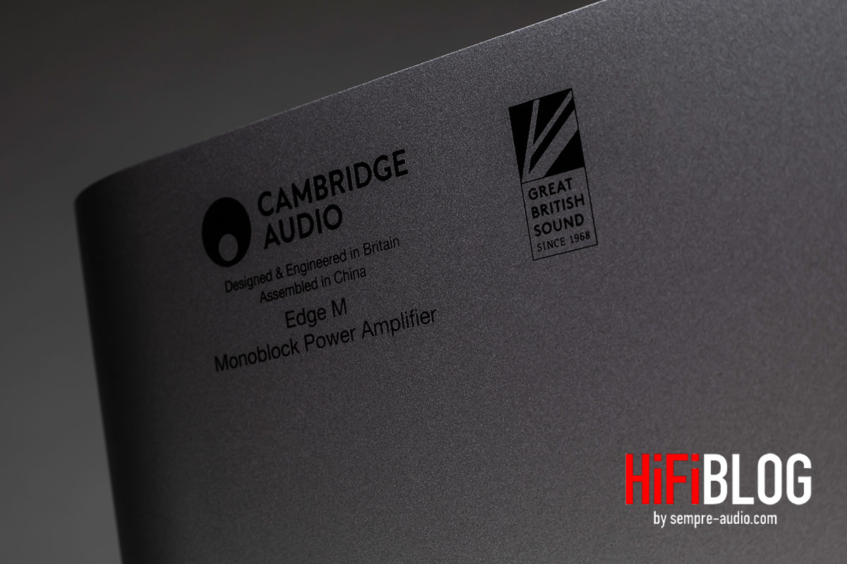 Cambridge Audio Edge M Monoblock Power Amplifier - Treue-Rabatt ausgelobt