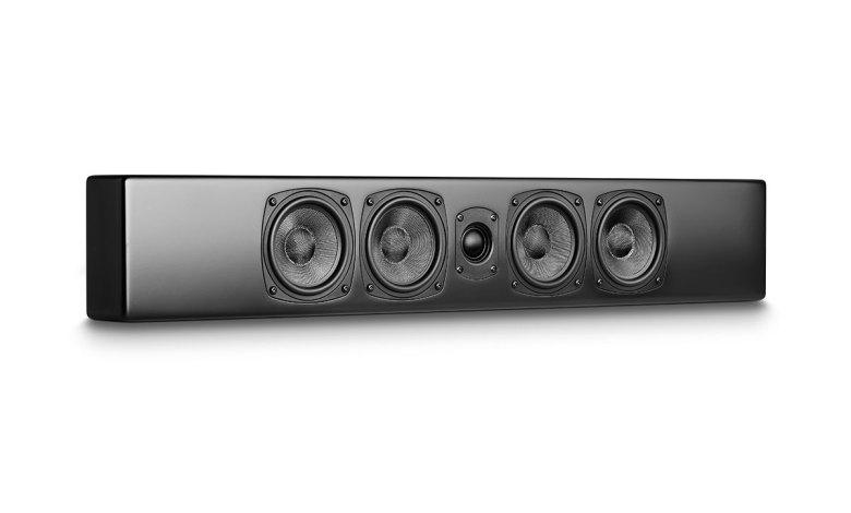 Photo © M&K Sound |  M&K M90 on-wall speaker