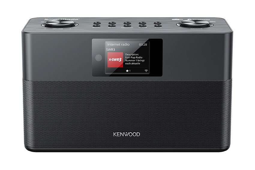 Kenwood CR-ST100S SmartRadio - Dreierlei Radio…