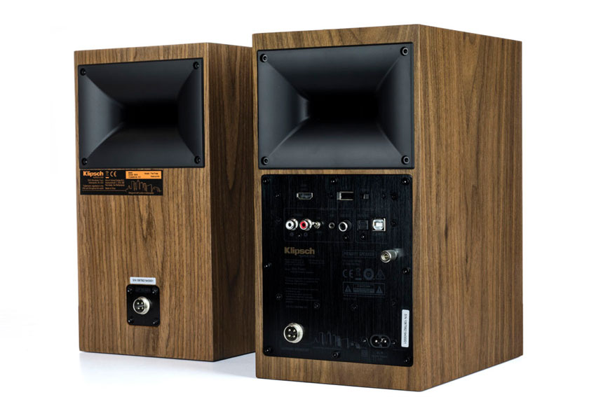 Klipsch The Fives Powered Monitors Active Wireless Speaker 04