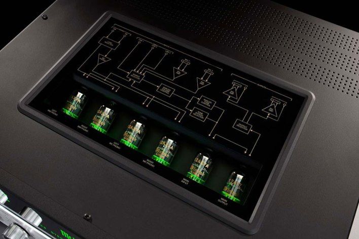 McIntosh C22 2 Channel Vacuum Tube Preamplifier Mk V 07