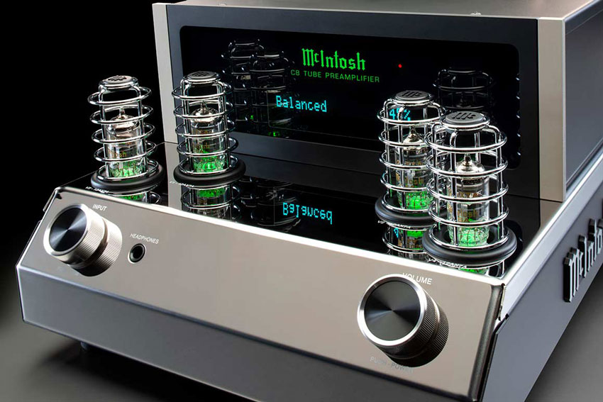 McIntosh C8 2 Channel Vacuum Tube Preamplifier 02